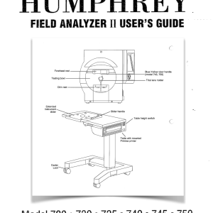 HFA-II Visual Field Manual
