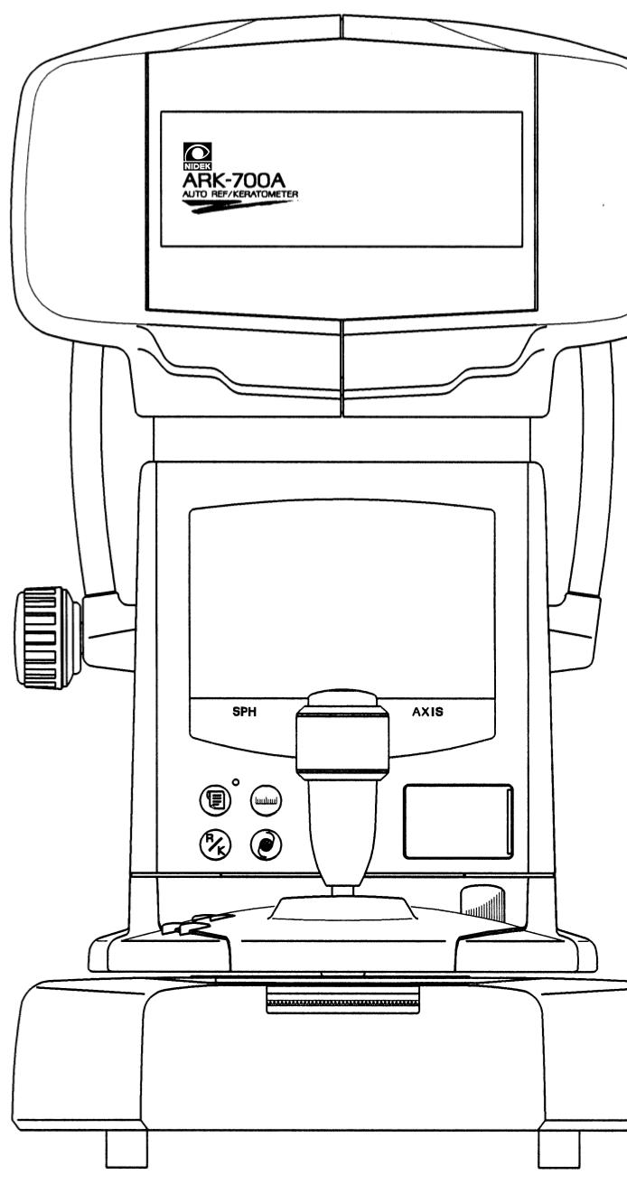 700A Auto-Refractor/Keratometer