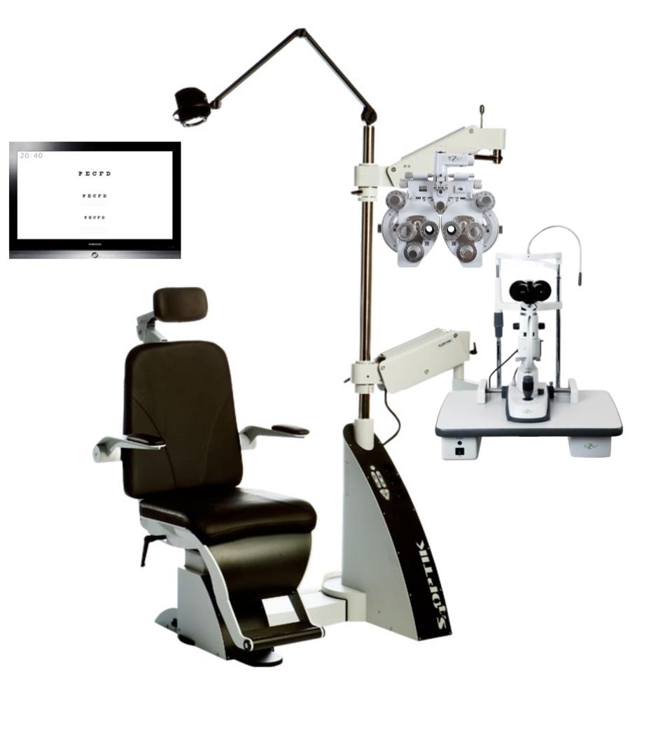 The Humble Ophthalmic Exam Lane Package The Eye Company