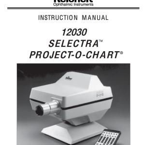 Reichert Selectra POC Manual
